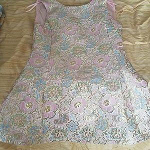 Coral toned Skater dress