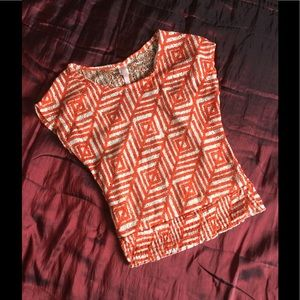 Other - Geometric design blouse