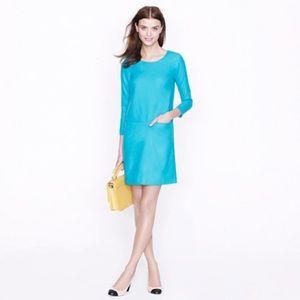 J CREW jules dress wool bright 00