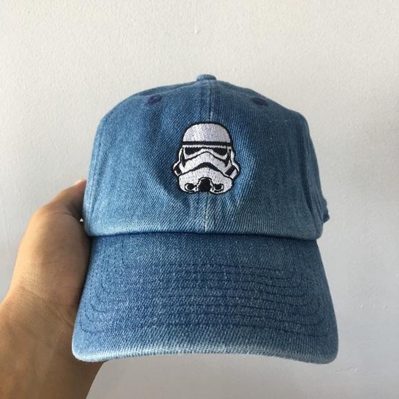 9be9e668161 Storm trooper dad hat - denim