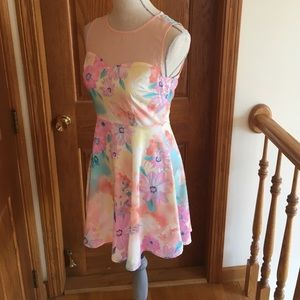 Dresses & Skirts - Water color floral dress