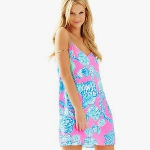 NWT Lilly Pulitzer pink pout dusk dress