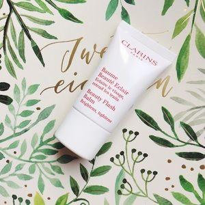 • clarins • beauty flash face cream baume beaute