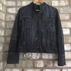 GAP RETRO DARK WASH INDIGO DENIM JACKET SIZE XS