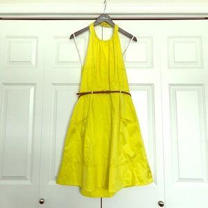 Calvin Klein size 10 yellow sundress.