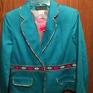 Jackets & Blazers - Turquoise Jacket