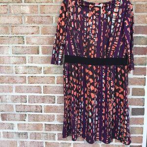 Dresses & Skirts - Triste Abstract Print A-line Dress Size 1X