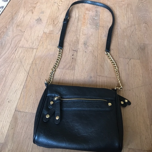 7410af9c75 BP Nordstrom Black crossbody bag with gold chain. M_598b5ebd9c6fcfbddb167dc5