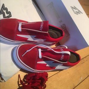 ada7a92901a723 Shoes - Ian Connor Revenge X Storm shoe- revenge red ❤️