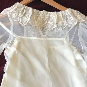 Gunne Sax Dresses - 🎉SALE! Vintage Gunne Sax Lace Overlay Dress