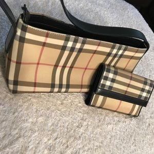 Burberry Hand Bag & Wallet