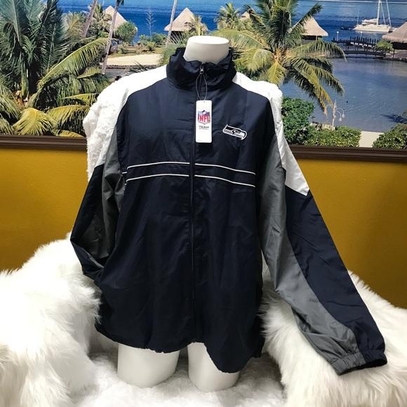 quality design 01fc5 8f692 DunBrook NFL XL Windbreaker Jacket NWT