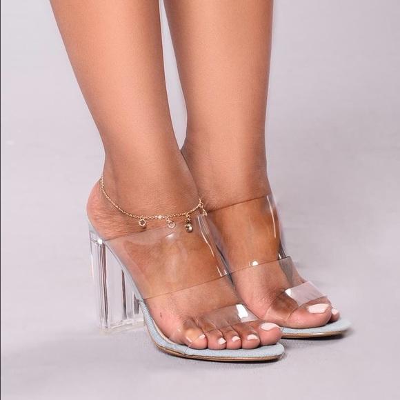 Fashion Nova Shoes The Glass Slipper Poshmark