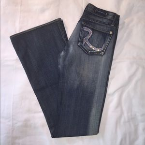 2a22aac6 Rock & Republic Jeans | Euc Rock Republic Crystal Roth Sz 26 | Poshmark