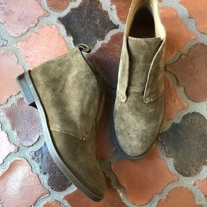 FRANCO SARTO CHUKKA ANKLE BOOTIE BOOT SHOE SUEDE 6