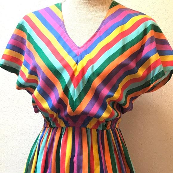 Vintage Dresses - Vintage cotton Summer Dress