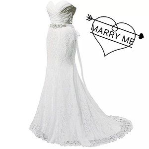 Dresses & Skirts - Plus/Regular Classic Mermaid Wedding Dress, 2-22W