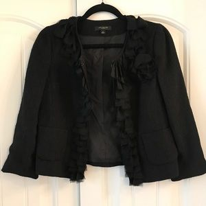 Dressy black blazer