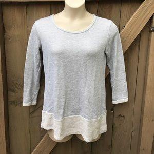 How. Very. Loved. Grey Tunic sweater size M