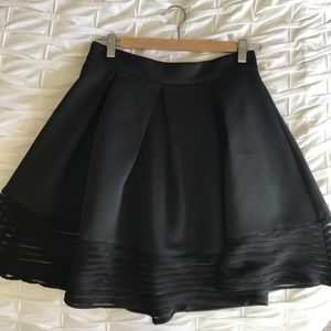 LF Dream State Burnout Skirt NWT