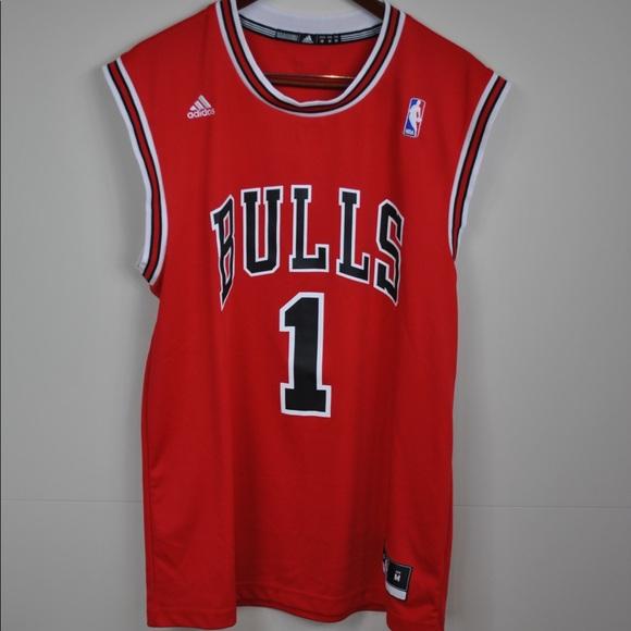 9556aad40db ... promo code for adidas chicago bulls derrick rose jersey medium a7c4a  d78e9