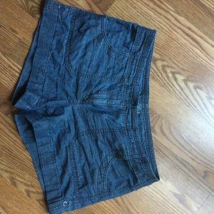 Loft size 6 denim shorts