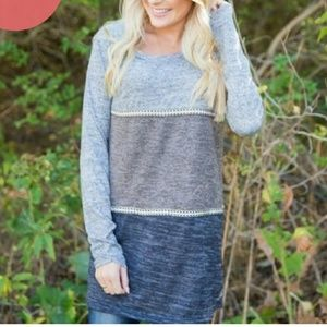 Tops - Triple Threat Lightweight Striped Sweater