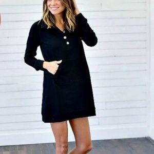 Dresses & Skirts - Black, sweatshirt dress