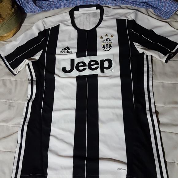 69b0b2ba6 Adidas Juventus 2016 17 Authentic Home Jersey