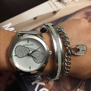 Brand New with tags Michael Kors Silver Watch