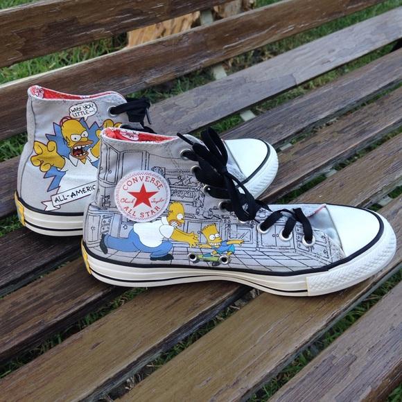 Converse Simpsons Bart Simpson Homer high top 7