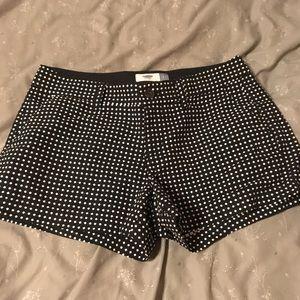 Old Navy polka dot dress shorts