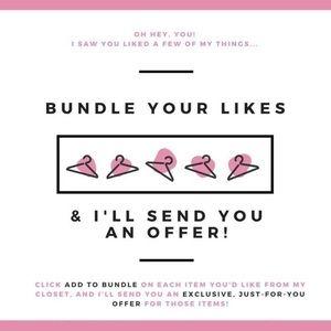 Bundle bundle your likes 💕