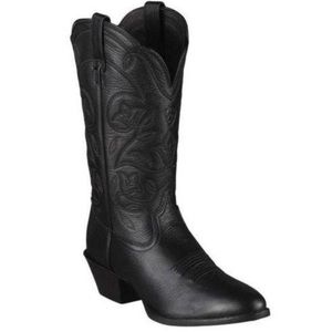 Ariat Leather Heritage Western boots