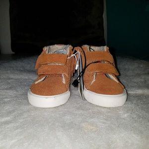 Zara Kids Fringe Sneaker Booties NWOT