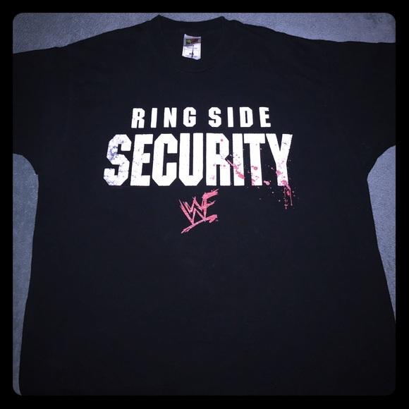 WWE WWF Vintage Ringside Security Men's T-Shirt