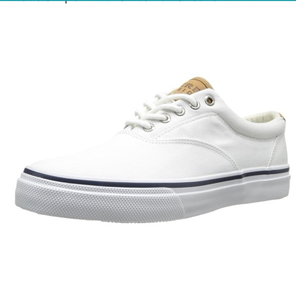 Sperry White Sneakers Shoes Men 1