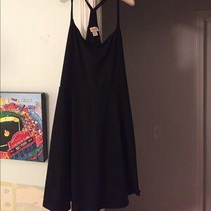 Black racerback type dress