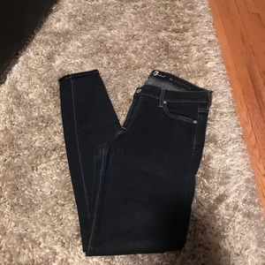 7 for all Mankind Dark blue jeans