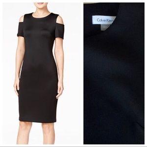 CK Cold Shoulder Dress