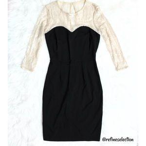 ERIN Erin Fetherston Sequin Lace Sweetheart Dress