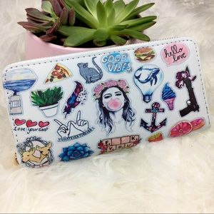 Handbags - Good Vibes Wallet NWT