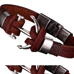 Other - Brown Genuine Leather Bracelets
