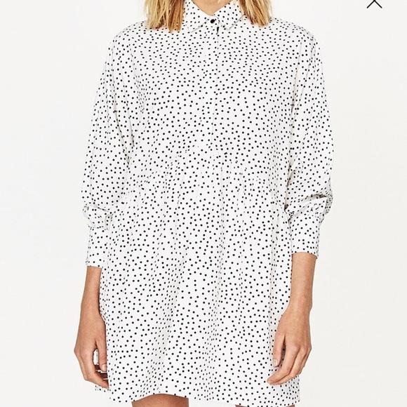 cf99b7fb Polka dot shirt dress. M_598be1476a5830d3110224dc