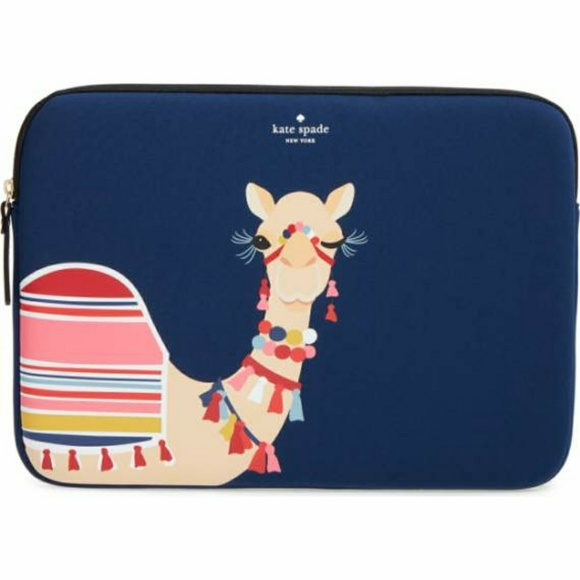 Kate spade Accessories - 🤓FOUND]🤓Kate Spade Camel Laptop Sleeve