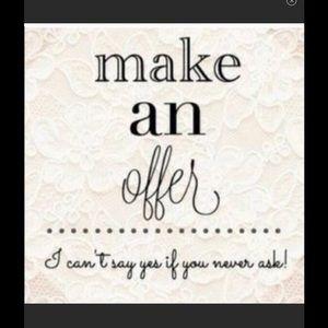Other - MAKE AN OFFER! 💞