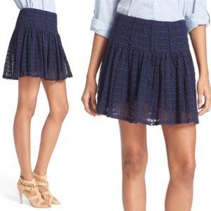 JOIE 💙 Martel Skirt Dark Navy Size 4 NWT