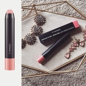 Mac look lively patent polish lip pencil crayon