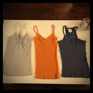 Abercrombie & fitch tank top bundle💕