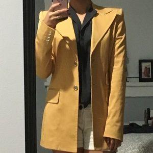 Stunning! Dolce & Gabbana mustard jacket.